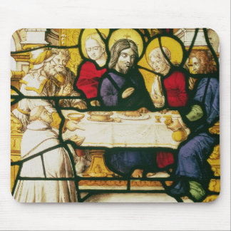 Panel depicting St. Andrew at the Supper at Emmaus Mouse Pad