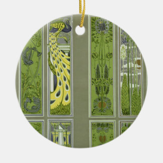 Panel designs, plate III from 'Modern Ornament' pu Christmas Ornament