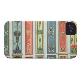 Panel designs, plate XII from 'Modern Ornament' pu iPhone 4 Case-Mate Cases