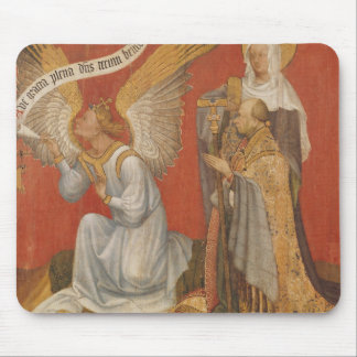 Panel from a diptych depicting the Angel Mouse Pad