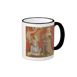 Panel from a diptych depicting the Angel Ringer Mug