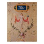 Panel from the boudoir of Marie-Antoinette Postcards