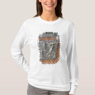 Panel from the left hand door, 12th century (bronz T-Shirt