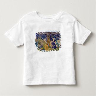 Panel of glazed earthenware tile-work, Isfahan Toddler T-Shirt