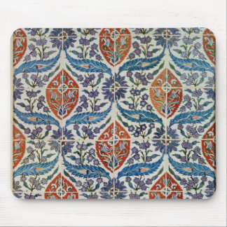 Panel of Isnik earthenware tiles Mouse Mat