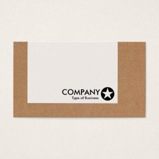 Panel - Star - Cardboard Box Business Card