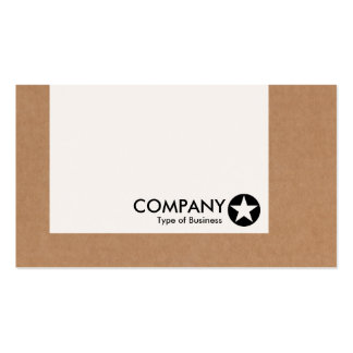 Panel - Star - Cardboard Box Pack Of Standard Business Cards