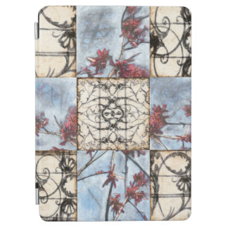 Paneled Abstract Scrollwork Painting iPad Air Cover