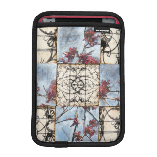 Paneled Abstract Scrollwork Painting iPad Mini Sleeve