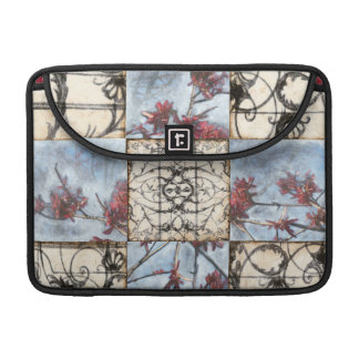 Paneled Abstract Scrollwork Painting Sleeve For MacBook Pro