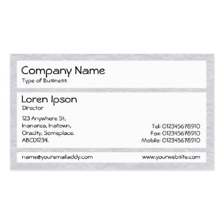 Panels - Creased Paper Lt Gray Business Card