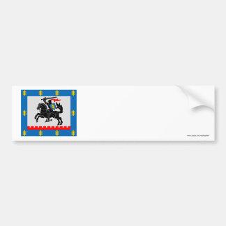 Panevezys County Flag Bumper Sticker