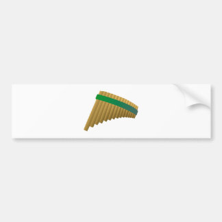 Panflöte pan flute auto sticker