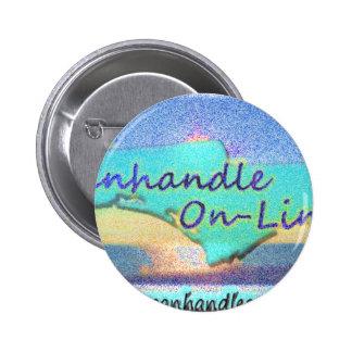 Panhandle OnLine Gear 6 Cm Round Badge
