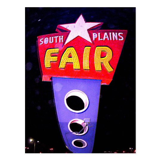 Panhandle South Plains Fair Postcard