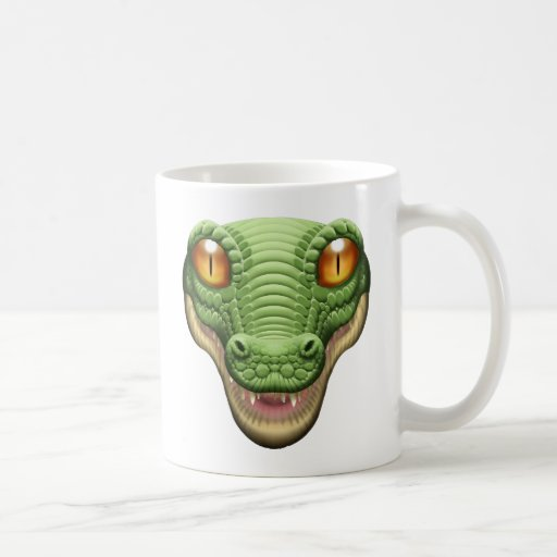 Panic Button Alligator Avatar Mug