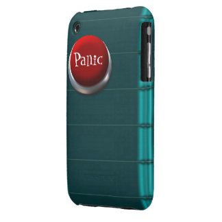 Panic button iPhone 3 case