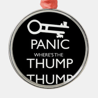 Panic Christmas Ornament