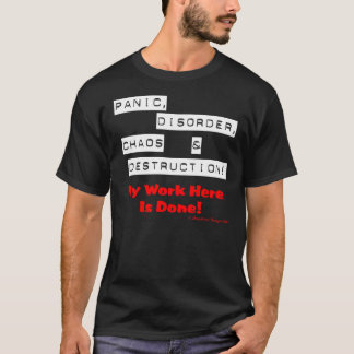 Panic! (Dark) T-Shirt