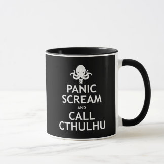 Panic Scream and Call Cthulhu Mug