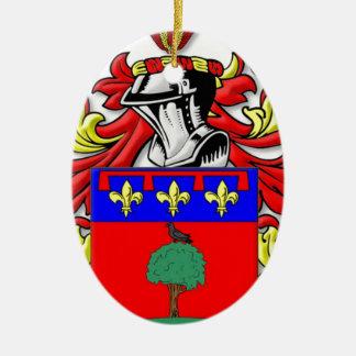 Paniccia Coat of Arms Christmas Tree Ornament