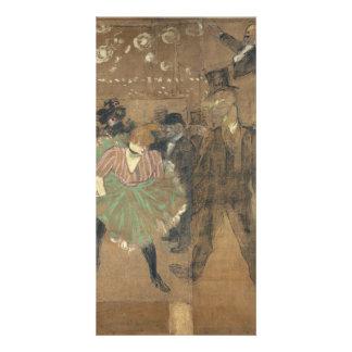 Panneaux pour Baraque de Goulue Toulouse-Lautrec Photo Card Template
