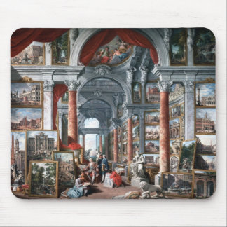 Pannini - Gallery of Views of Modern Rome Mouse Mat