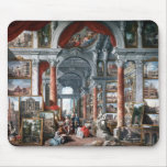 Pannini - Gallery of Views of Modern Rome Mouse Pad