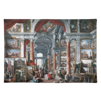 Pannini - Gallery of Views of Modern Rome Placemat