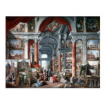 Pannini - Gallery of Views of Modern Rome Post Card