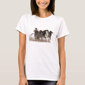 Panoply - Ancient Greek chariot and horses zoom T-Shirt