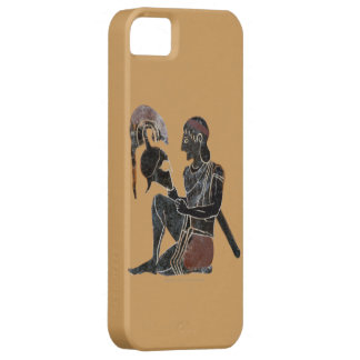 Panoply - Ancient Greek Hoplite Soldier, Sitting iPhone 5 Case