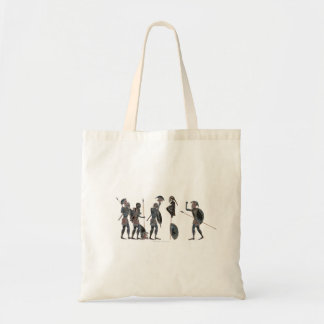 Panoply - Ancient Greek hoplites celebrating Tote Bag