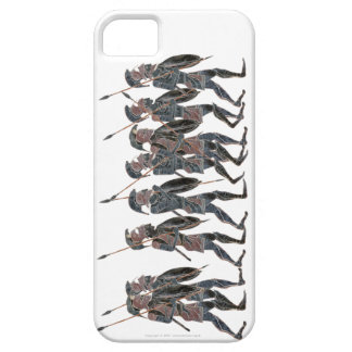 Panoply- Ancient Greek Hoplites on the Move iPhone 5 Cases