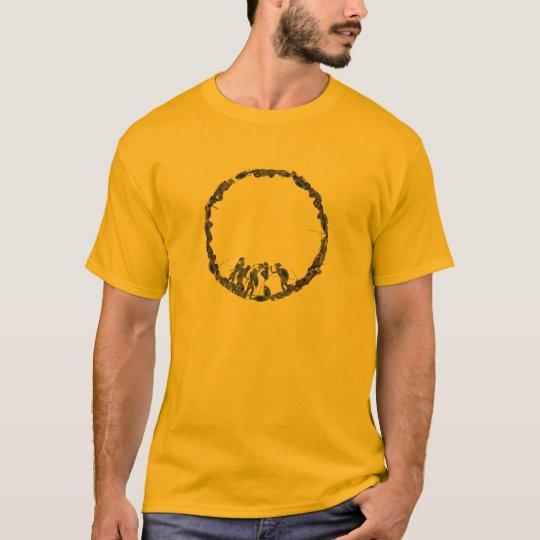Panoply - Ancient Greek hoplites post battle T-Shirt