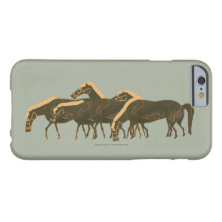 Panoply -  Ancient Greek vase horses grazing Barely There iPhone 6 Case