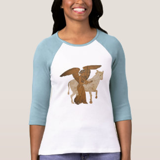 Panoply - The Greek goddess Nike with a bull T-Shirt