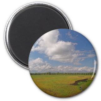Panorama46 Cottonwood CA 6 Cm Round Magnet