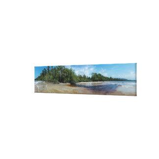 Panorama Cahuita Beach Canvas Print
