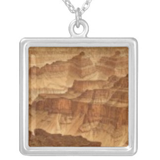 Panorama from Point Sublime 2 Silver Plated Necklace