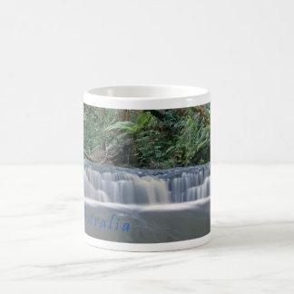 Panorama jungle stream basic white mug