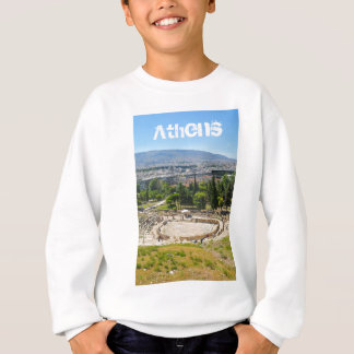 Panorama of Athens, Greece Sweatshirt