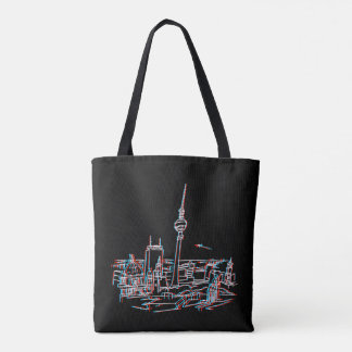 Panorama of Berlin in 3D Tote Bag