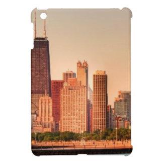 Panorama of Chicago skyline at sunrise iPad Mini Case
