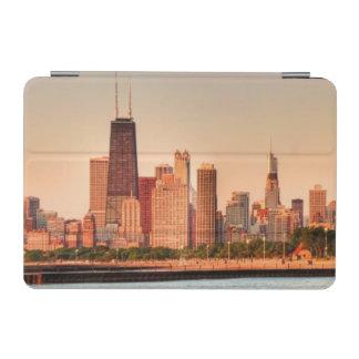 Panorama of Chicago skyline at sunrise iPad Mini Cover