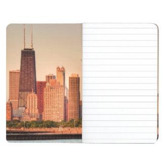 Panorama of Chicago skyline at sunrise Journal