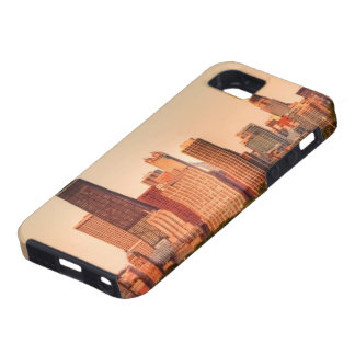 Panorama of Chicago skyline at sunrise Tough iPhone 5 Case