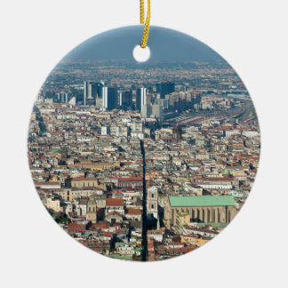 Panorama of Naples Christmas Ornament