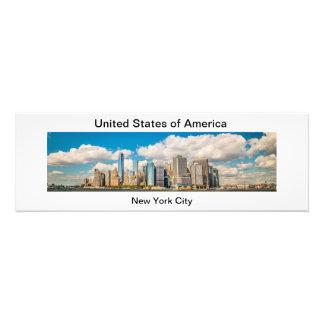 Panorama of New York City Art Photo