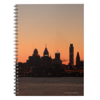 Panorama of Philadelphia, Pennsylvania Notebook
